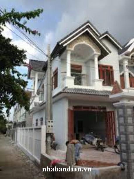 Bán nhà hai mặt tiền gần chợ Dĩ An – Khu Đông Tác 60m 2 giá  940 triệu