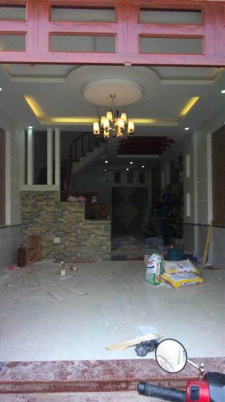 Bán nhà 1 triệt 1lầu và 3 phòng trọ  gần đường Hai Bà Trưng. Giá 1tỷ 450 triệu