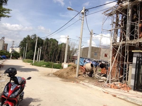 Bán đất mặt tiền buôn bán giá gần trạm thu phí Bình Thắng giá 680 triệu