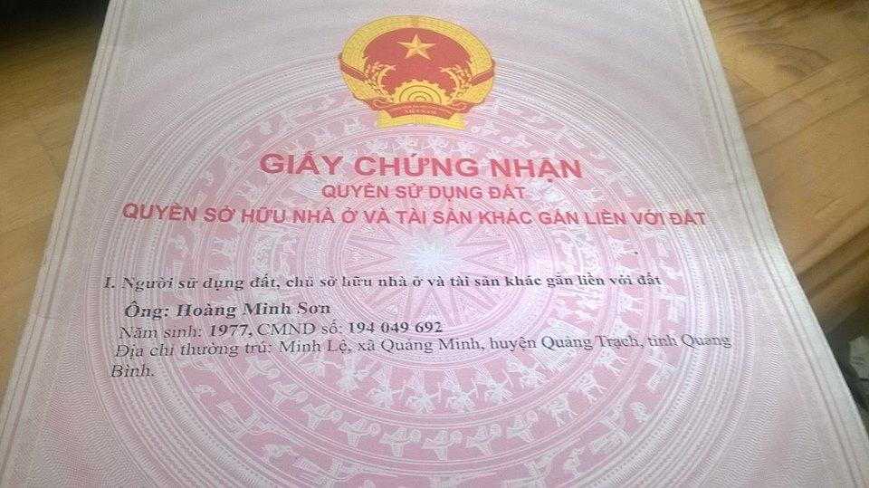 Bán đất mặt tiền kinh doanh xây nhà trọ Đông Minh Giá 8,2 triệu/m2