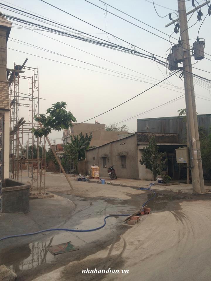 Bán đất gần ngã tư đường mồi giá 860 triệu