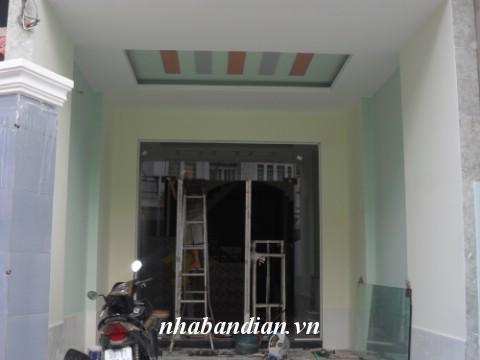 Bán nhà cấp 4 gác lửng mới xây xong gần UBND Tân Đông Hiệp