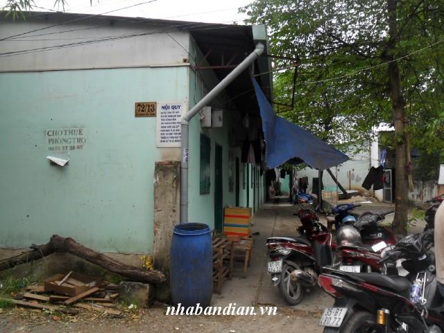 Bán nhà trọ có 4 phòng gần chợ Nội Hóa đường Quốc Lộ 1K giá 700 triệu