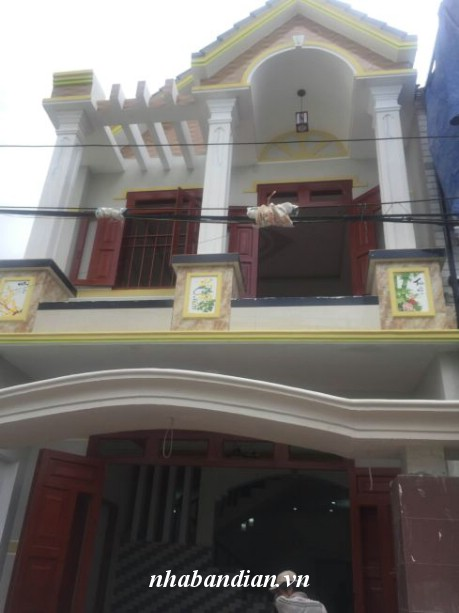 Bán nhà phường Đông Hòa gần đường Hai Bà Trưng giá 1tỷ 450 triệu
