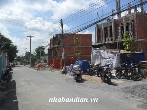 Bán nhà 2 lầu 1 triệt gần đường Nguyễn Đình Chiểu