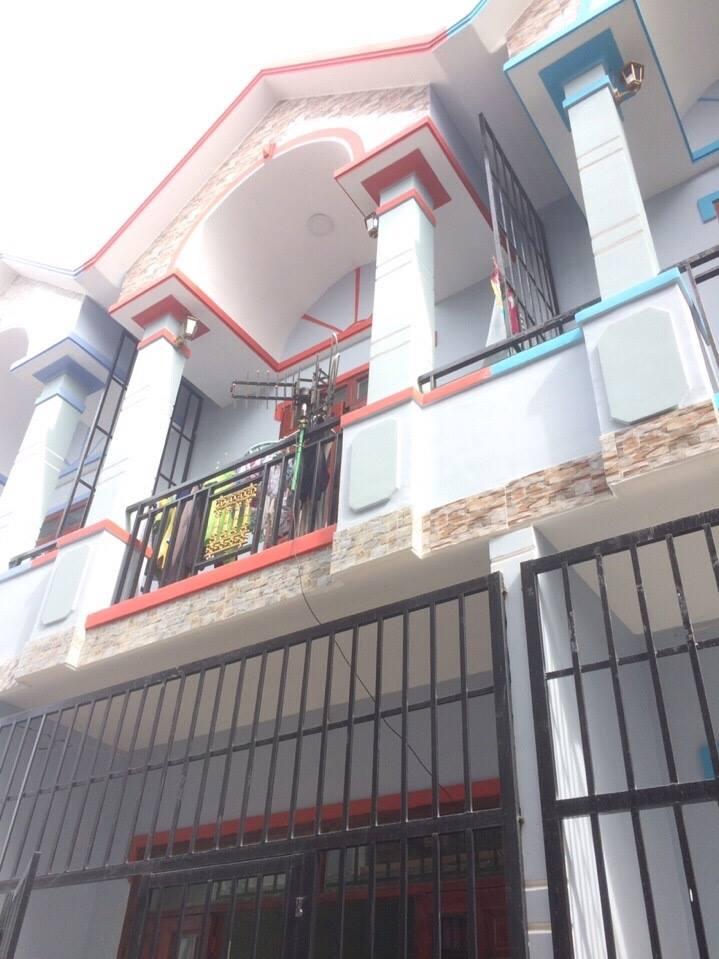 Bán nhà 1 triệt 1 lầu giá rẻ gần bệnh viện dĩ an 680 triệu