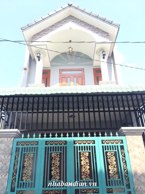 Bán nhà lầu gần đường Mạch Thị Liễu Ngã Ba Cây Điệp giá 1 tỷ 450 triệu