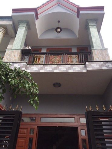 Bán nhà lầu đẹp gần chợ Tân Long giá 1 tỷ 350 triệu