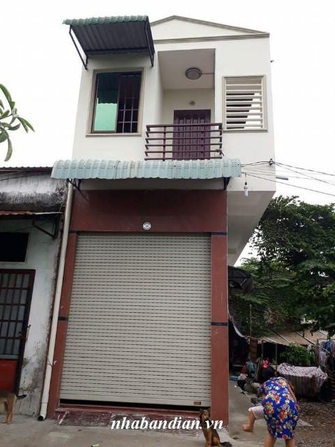 Bán nhà lầu 81m2 ỏ gần chợ Xóm Vắng Dĩ An giá 1 tỷ 550 triệu