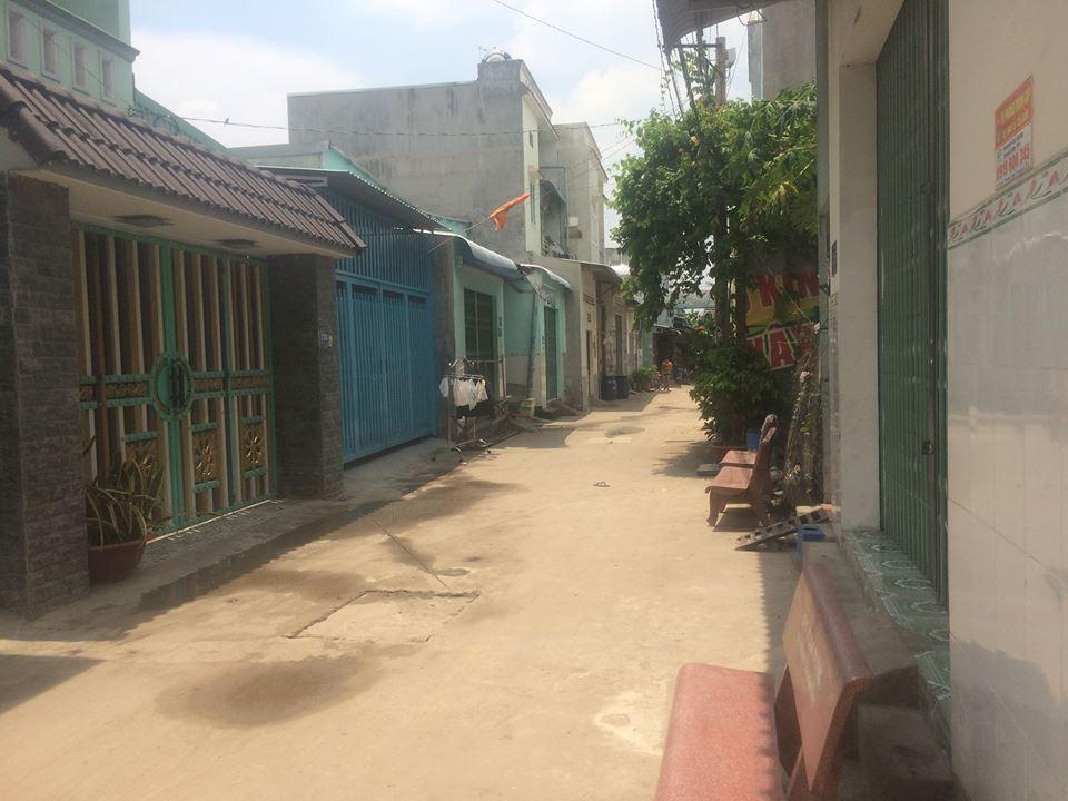 Bán nhà lầu gần đường Lê Thị Út giá 1 tỷ 350 triệu