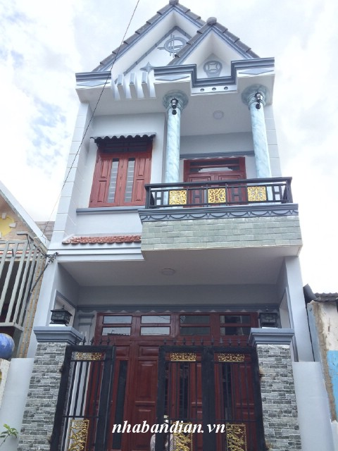 Bán nhà phố trong khu dân cư đường 7m gần Ngã Ba Cây Điệp
