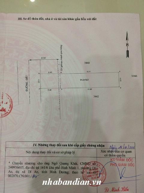 Bán đất 86m2 đường bê-tông 7m gần trạm thu phí Đông Hòa giá rẻ