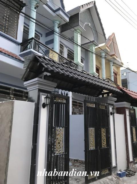 Bán nhà đường Nguyễn An Ninh đi vào ngay trường học cấp 1,2,3 Dĩ An
