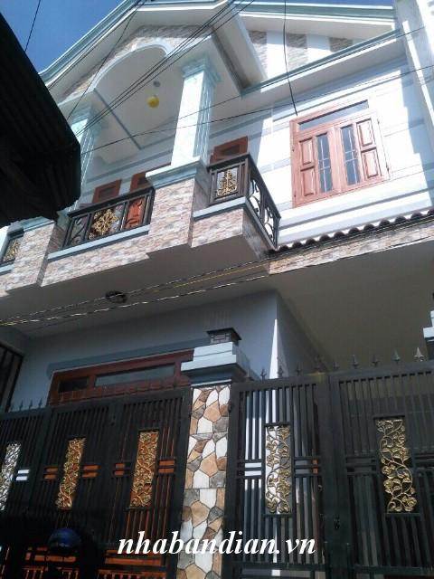 Bán nhà lầu đẹp ngay chợ Thống Nhất gần đường Lý Thường Kiệt Dĩ An