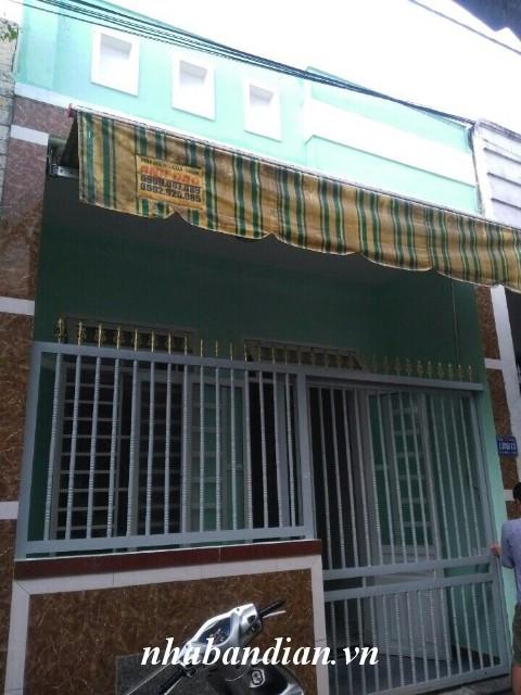 Bán nhà gần Mỹ Phước – Tân Vạn Ngã Tư Chiêu Liêu giá 570 triệu