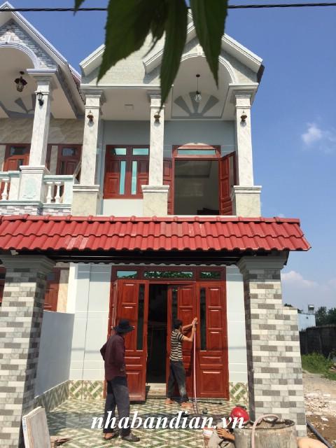 Bán nhà hai mặt tiền đẹp 109m2 gần Quốc Lộ 1K giá 1 tỷ 850 triệu
