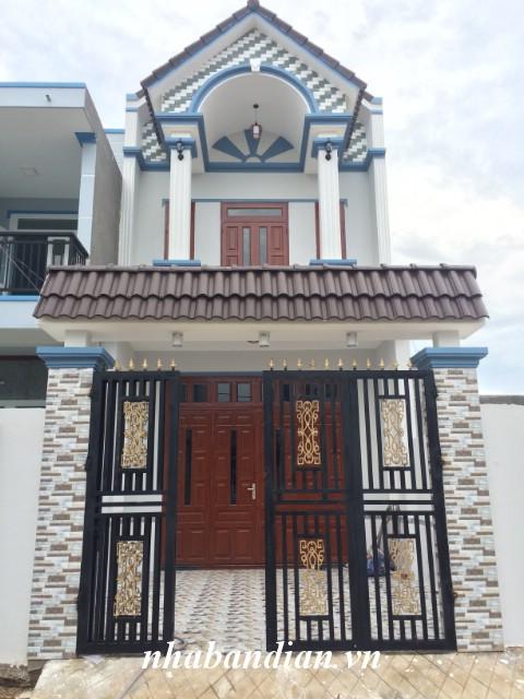 Bán nhà 100m2 trong KDC Bình Thung giáp đường Mỹ Phước Tân Vạn giá 2 tỷ 250 triệu