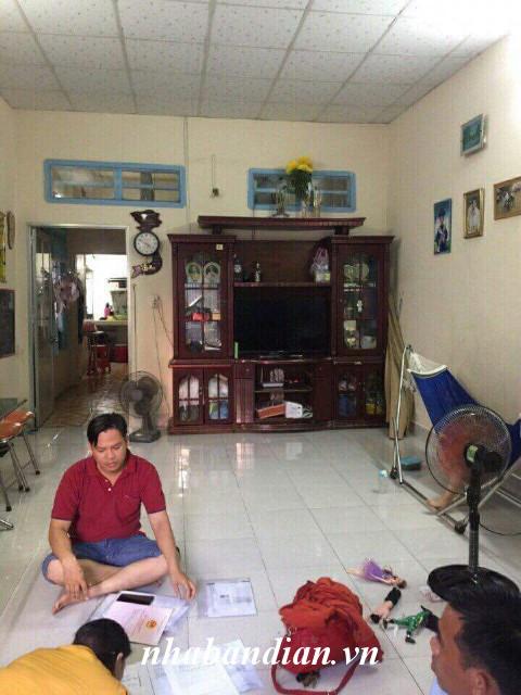 Bán nhà cấp 4 gần đường Nguyễn Thái Học 79.8m2 sau chợ Dĩ An 1 giá 1 tỷ 100 triệu