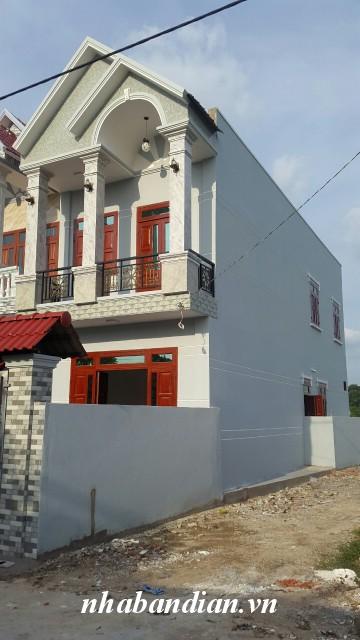 Bán nhà hai mặt tiền 110m2 gần chợ Đông Hòa đường Quốc Lộ 1K giá 1 tỷ 850 triệu.