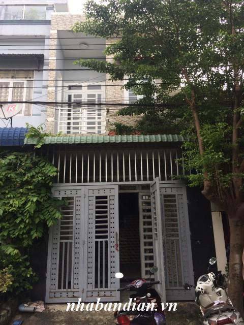 Bán nhà lầu giá rẻ 60m2 gần Bệnh viện thị xã Dĩ An giá 1 tỷ 550 triệu