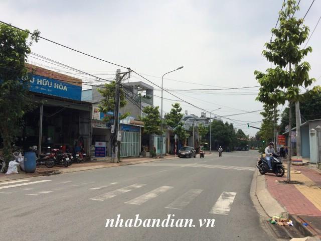 Bán đất mặt tiền đường Võ Thị Sáu nằm trong KDC Thái Bình Shoes sau lưng siêu thị Big C