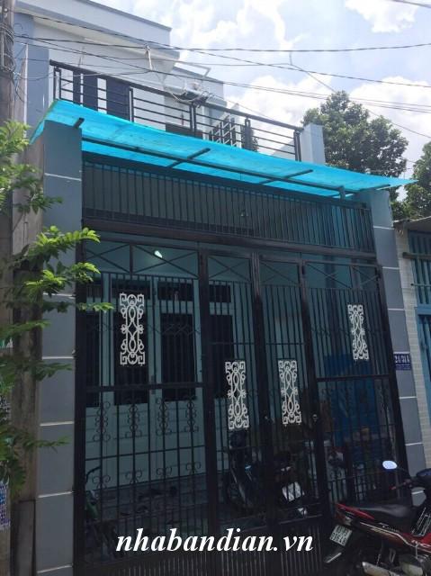 Bán nhà 74m2 ngay trường học và sân vận động Dĩ An gần đường Nguyễn An Ninh