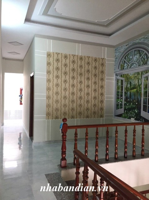 Bán nhà lầu 100m2 gần Làng đại học Quốc gia, gần Siêu thị Big C Dĩ An