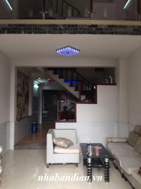 Bán nhà 1 trệt 1 lầu 1 lửng 66m2 đã hoàn công phường An Bình gần ngay chợ Dĩ An 2