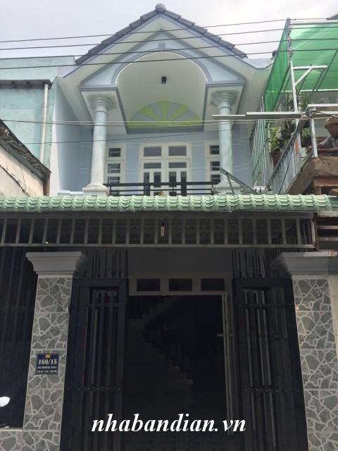 Bán nhà lầu 76m2 gần Ngã Ba Cây Lơn chợ Đông Hòa đường Trần Hưng Đạo vào 50m