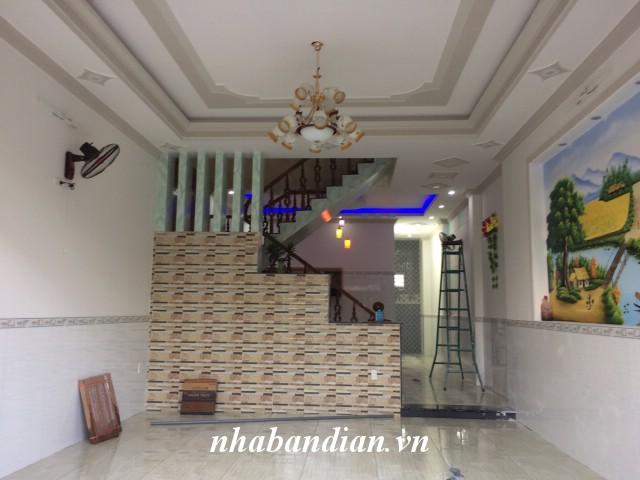 Nhà phố 2 lầu 100m2 cần bán trong KCN Dapak gần Ngã Tư Bình Thung