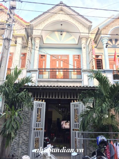 Bán nhà dĩ an ở đường Chiêu Liêu cách đường nhựa Nguyễn Thị Minh Khai vào 300m