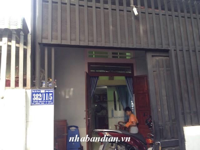 Bán nhà cấp 4 gác lửng đúc 51m2 ngay trường tiểu học Dĩ An đường Nguyễn An Ninh vào 50m
