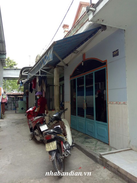Bán nhà dĩ an 40m2 sổ chung cách đường Lê Hồng Phong vào 30m giá 570 triệu