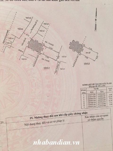 Bán nhà lầu 98.7m2 ở Linh Xuân Thủ Đức giáp khu trung tâm hành chính dĩ an giá 3.2 tỷ