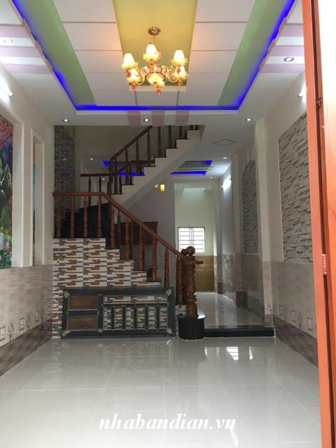 Bán nhà lầu đẹp giá rẻ gần ngay Ngã Tư Chiêu Liêu chỉ 1 tỷ 590 triệu