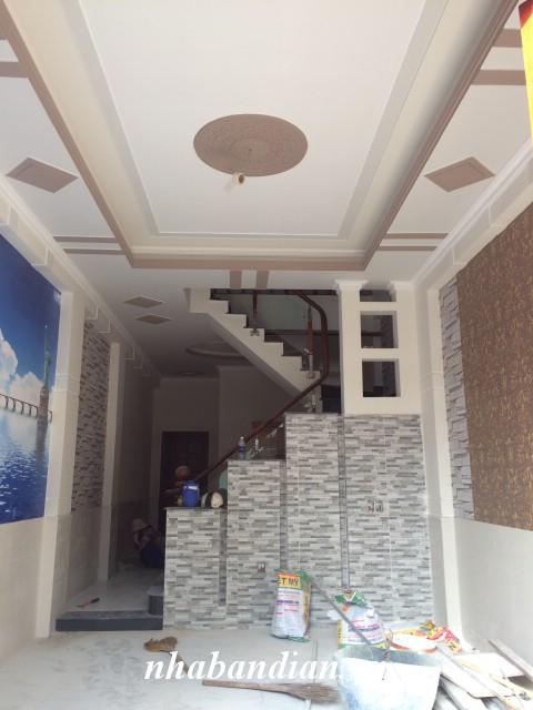 Bán nhà lầu mặt tiền đường nhựa 8m gần Khu công nghiệp Dapak gần Ngã Tư Bình Thung