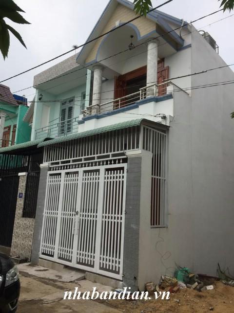 Bán nhà lầu 70m2 ở gần Hội trường Đông Hòa đường Nguyễn Công Trứ