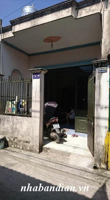 Bán nhà cấp 4 sổ hồng riêng 52m2 gần Ngã ba Ông Xã và chợ Tân Long
