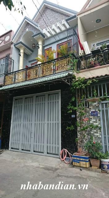 Bán nhà lầu đẹp 65m2 ngay đường Lê Hồng Phong gần Ngã Tư Chiêu Liêu