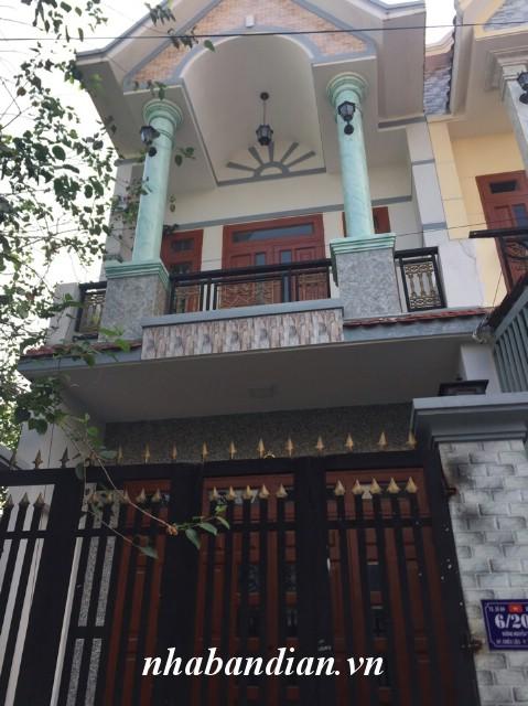 Bán nhà 72m2 trong khu dân cư đường Nguyễn Thị Minh Khai Dĩ An giá cực mềm