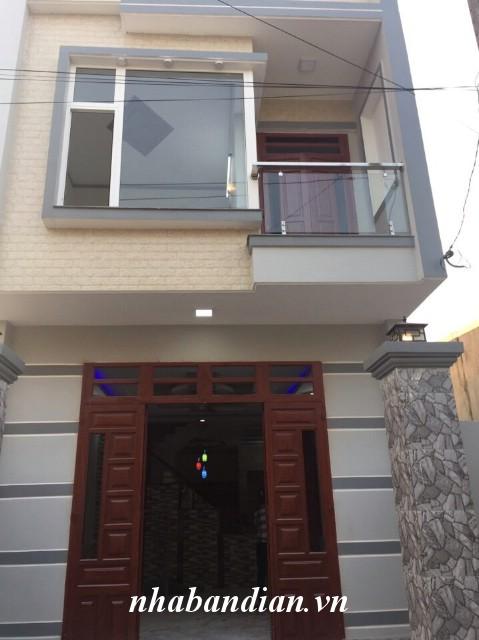 Bán nhà lầu 75m2 gần đường Nguyễn Thị Minh Khai và chợ Tân Long