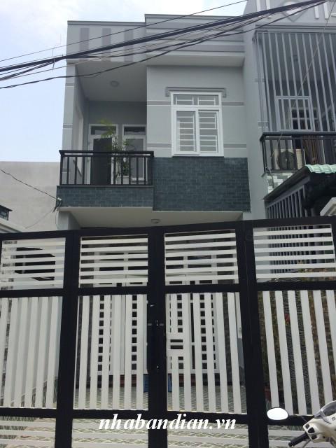 Bán nhà lầu đẹp hình chữ L có 4 phòng ngủ gần trường học Dĩ An đường nhựa Nguyễn An Ninh