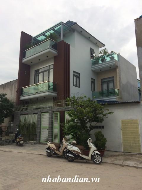 Bán biệt thự đẹp 100m2 trong Khu dân cư yên tĩnh gần Ngã Ba Ông Xã