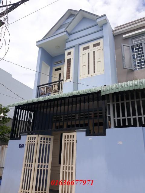 Bán nhà Dĩ An 1 trệt 1 lầu nằm trong khu dân cư đông đúc ở đường Tân An