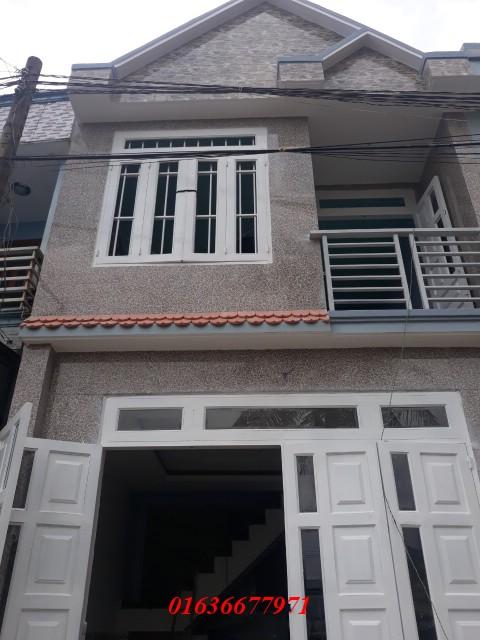 Bán nhà 1 trệt 1 lầu nằm trên đường lớn Nguyễn Thị Minh Khai