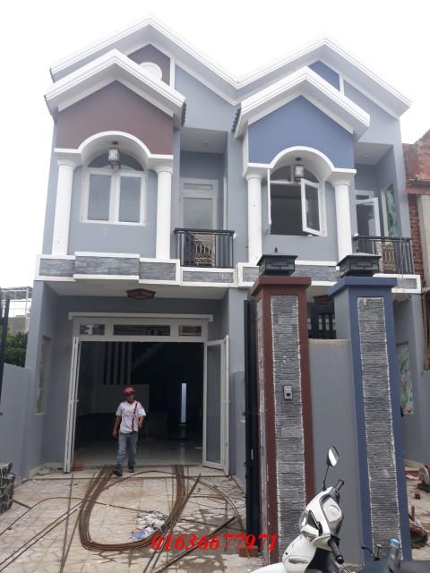 Bán nhà dĩ an 1 trệt 1 lầu nằm trên đường lớn Võ Thị Sáu