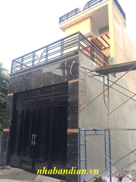 Bán nhà phố 70m2 mới xây ngay đường Nguyễn Hữu Cảnh